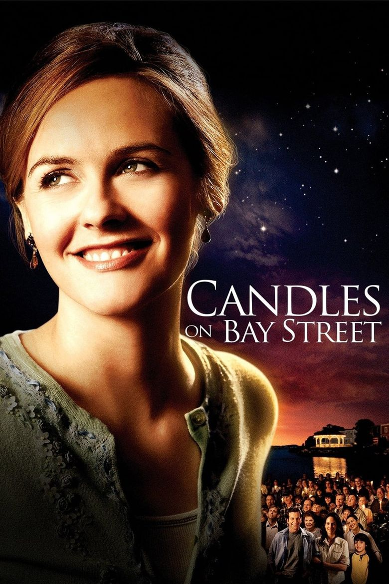 Candles on Bay Street Poster