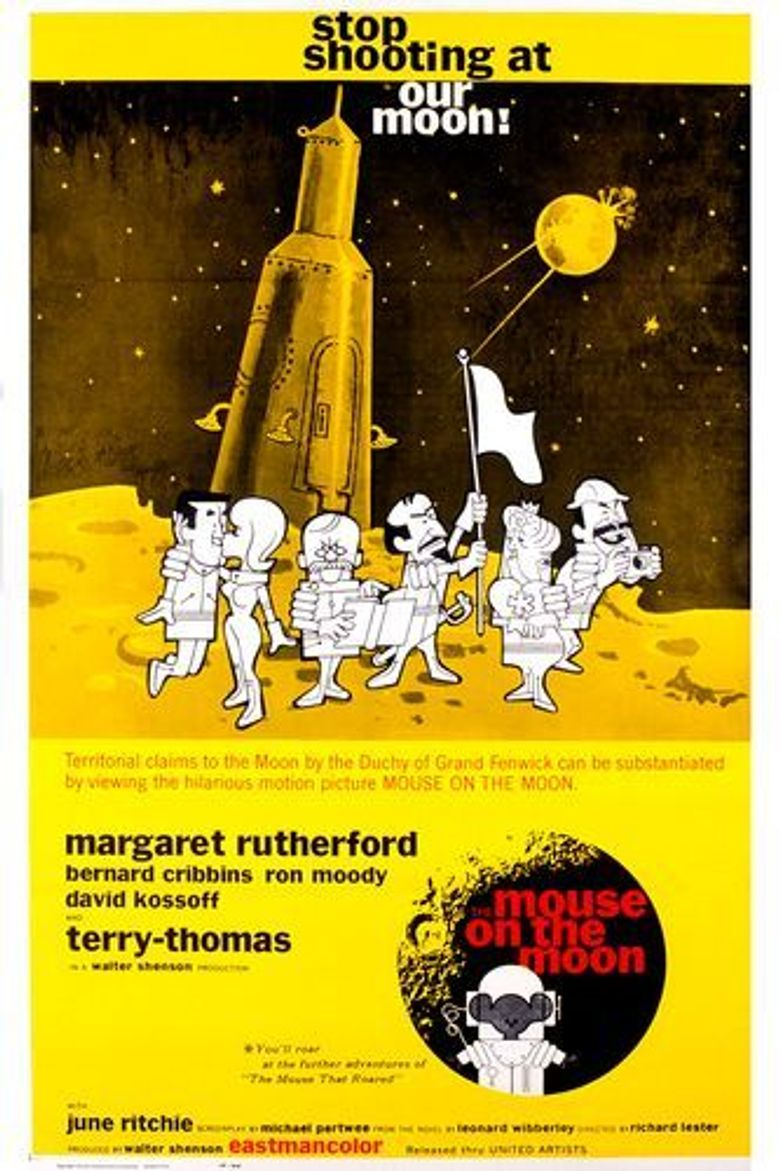 The Mouse on the Moon Poster