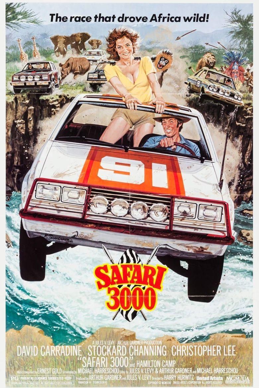 Safari 3000 Poster