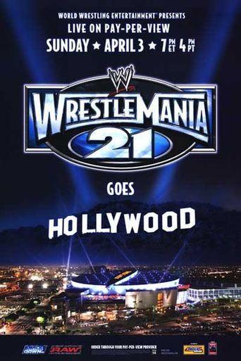 WWE WrestleMania 21 Poster