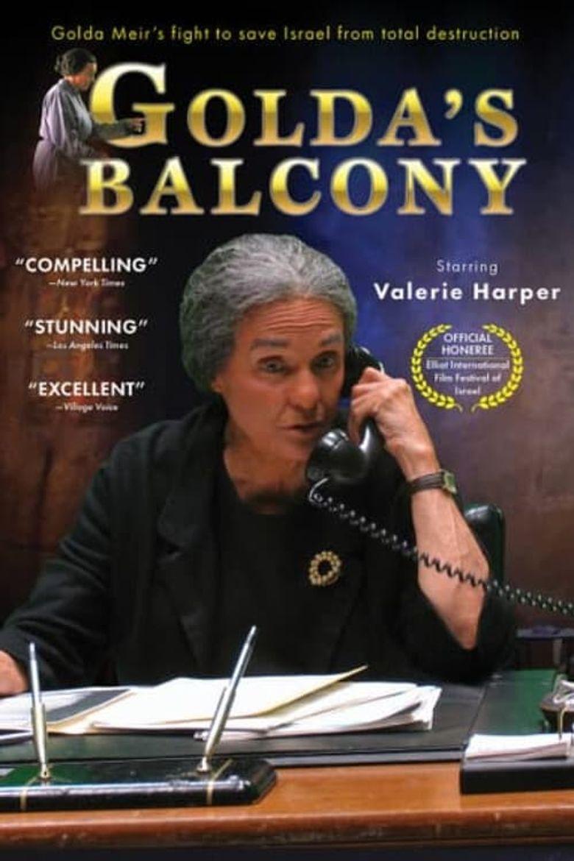 Golda's Balcony Poster
