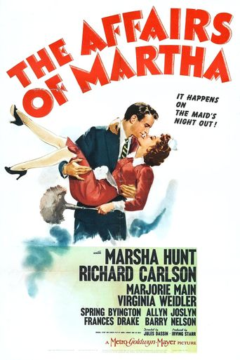 The Affairs of Martha Poster