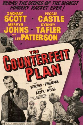 The Counterfeit Plan Poster