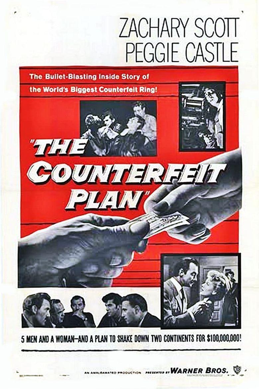 The Counterfeit Plan Poster