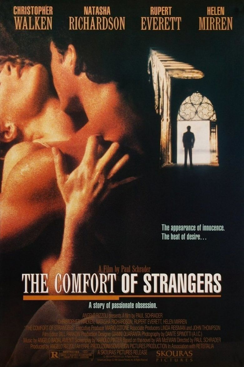 The Comfort of Strangers Poster