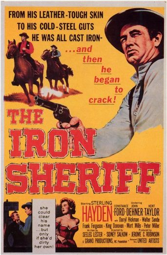 The Iron Sheriff Poster