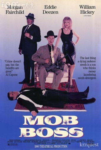 Mob Boss Poster