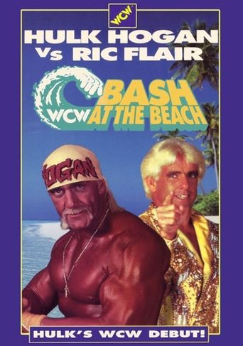 WCW Bash at the Beach 1994 Poster