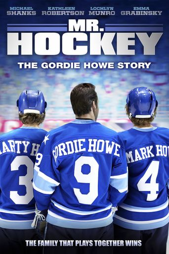 Mr Hockey The Gordie Howe Story Poster