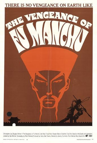 The Vengeance of Fu Manchu Poster