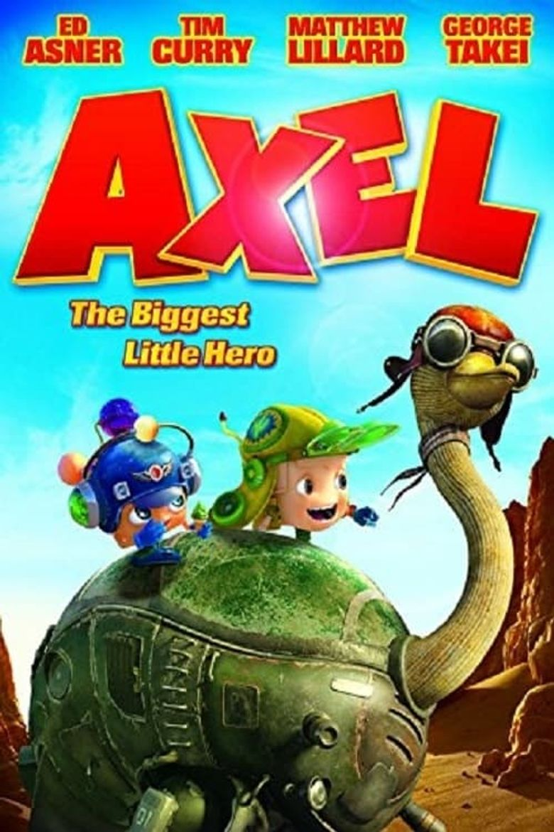 Axel: The Biggest Little Hero Poster