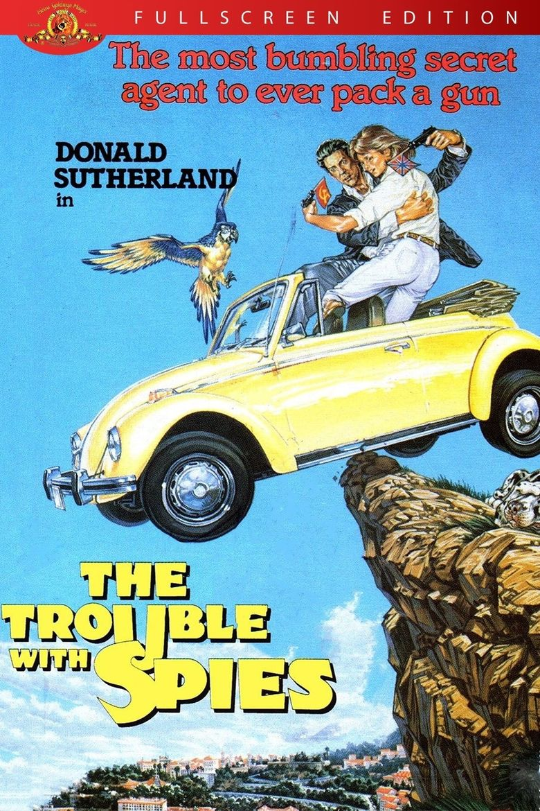 The Trouble with Spies Poster