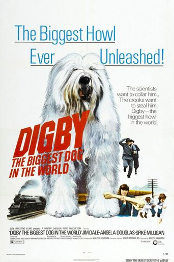 Digby, the Biggest Dog in the World Poster