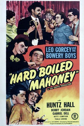 Hard Boiled Mahoney Poster