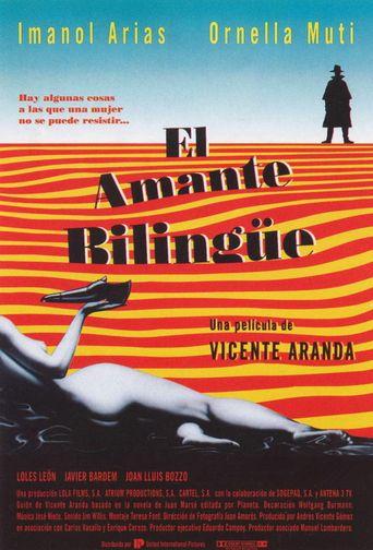 El amante bilingüe Poster