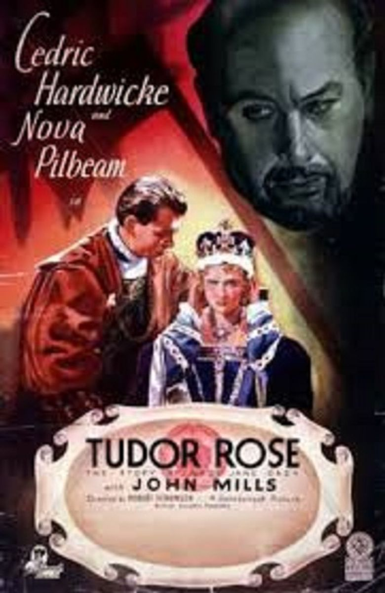 Tudor Rose Poster