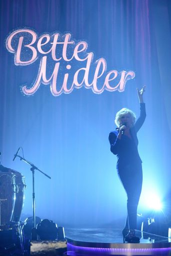 Bette Midler One Night Only Poster
