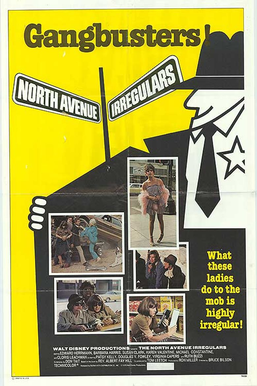 The North Avenue Irregulars Poster