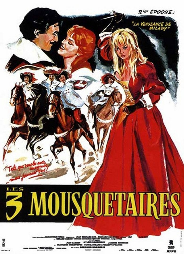 Vengeance of the Three Musketeers Poster
