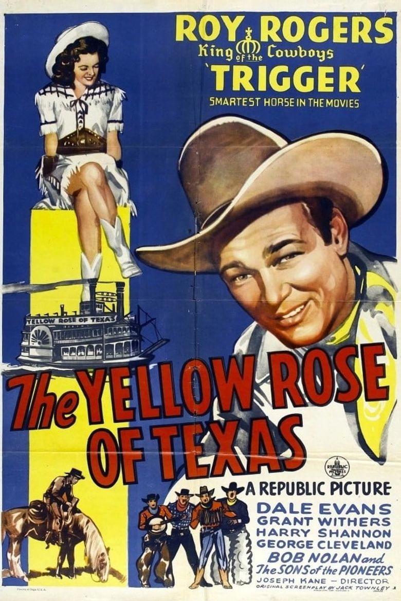 The Yellow Rose of Texas Poster