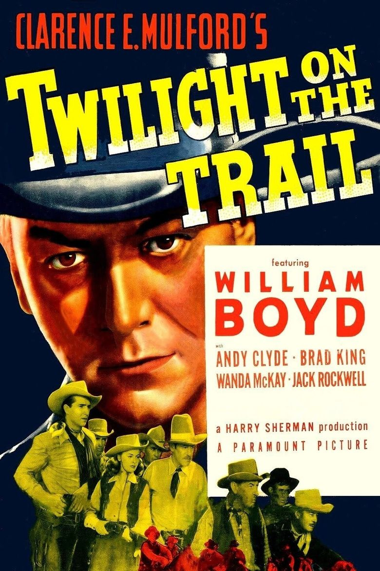 Twilight on the Trail Poster