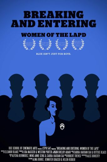 Breaking & Entering (Women of the LAPD) Poster