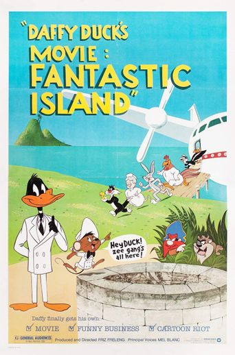 Watch Daffy Duck's Movie: Fantastic Island