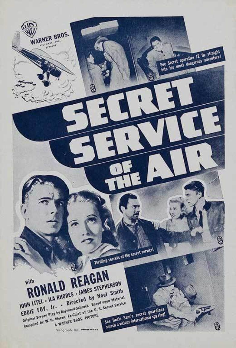 Secret Service of the Air Poster