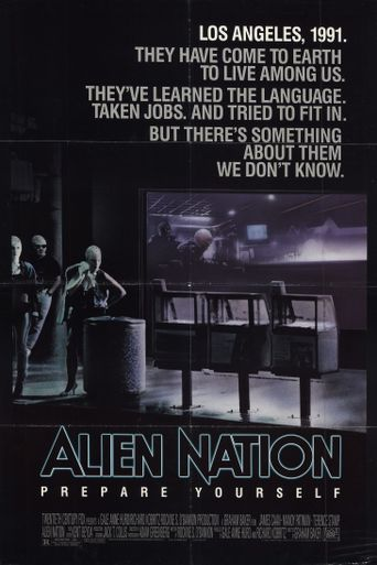 Alien Nation Poster