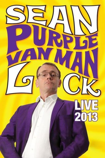 Sean Lock: Purple Van Man Poster
