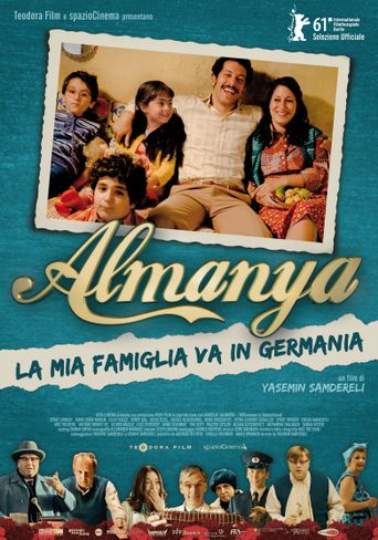 Almanya: Welcome to Germany Poster