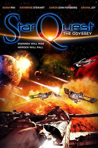 Star Quest: The Odyssey Poster