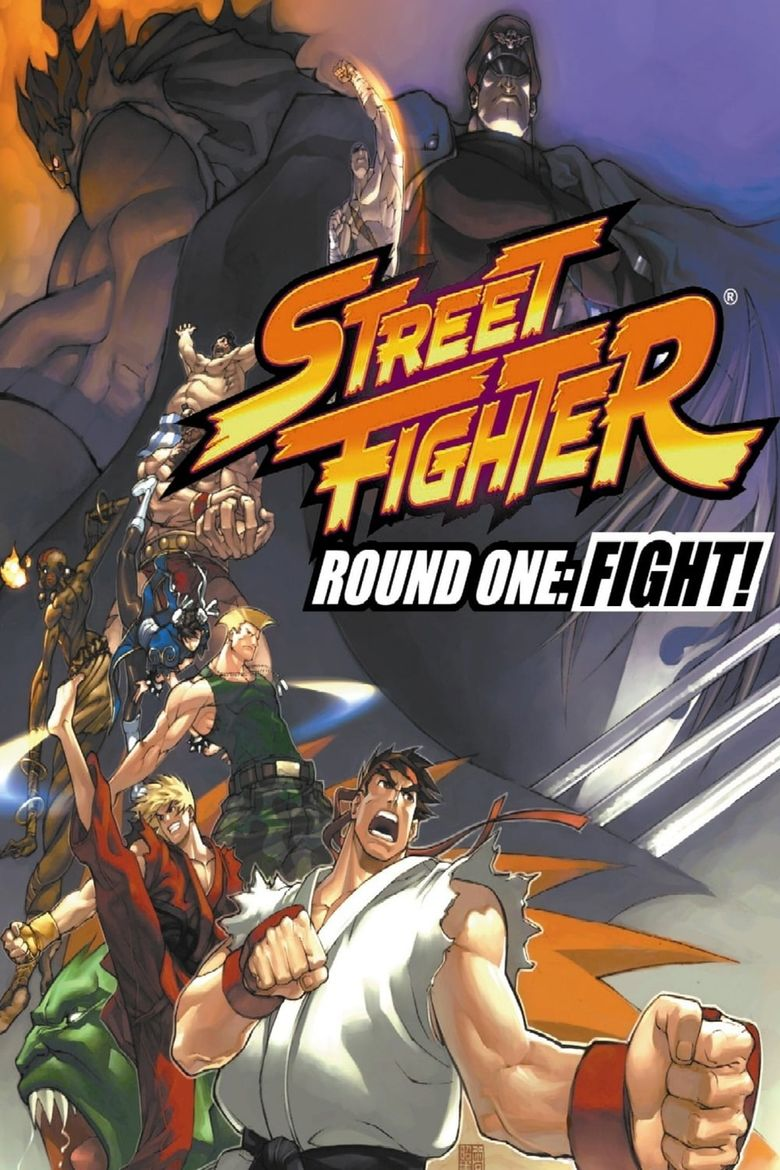 Street Fighter: Round One - FIGHT! Poster