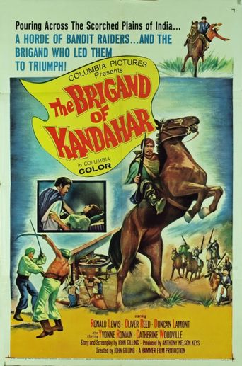 The Brigand of Kandahar Poster