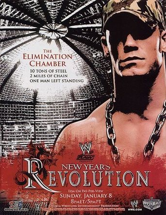 WWE New Year's Revolution 2006 Poster