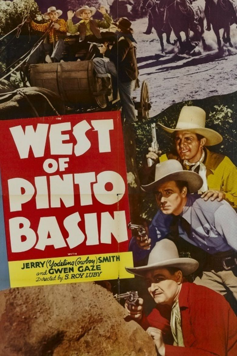 West of Pinto Basin Poster
