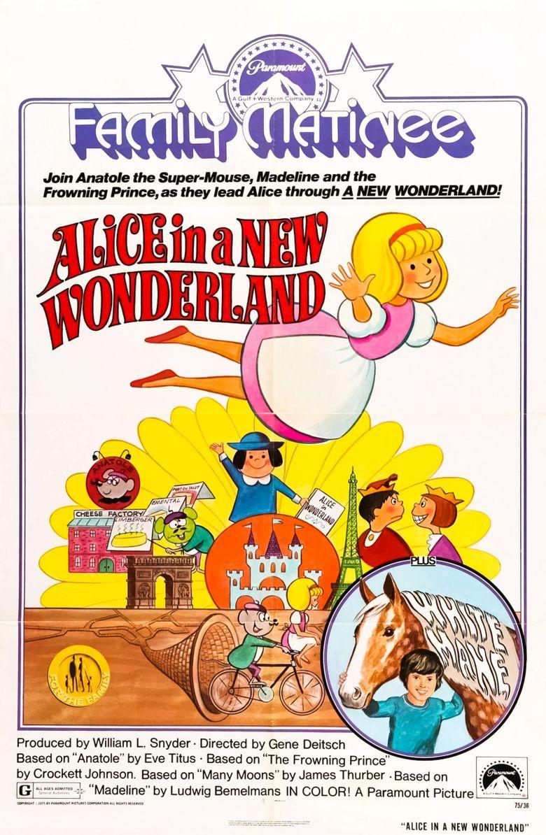 Alice of Wonderland in Paris Poster