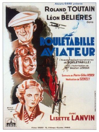 Rouletabille aviateur Poster