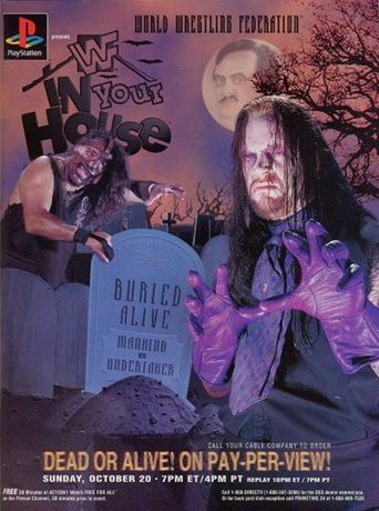 WWE In Your House 11: Buried Alive Poster