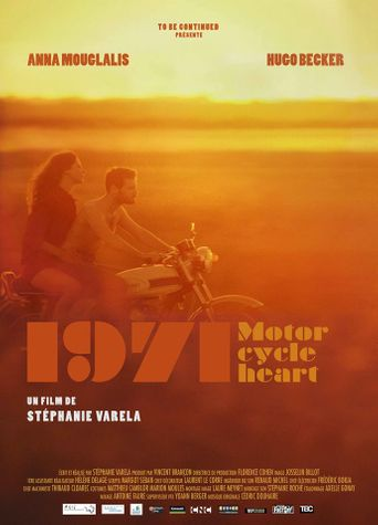 1971, Motorcycle Heart Poster