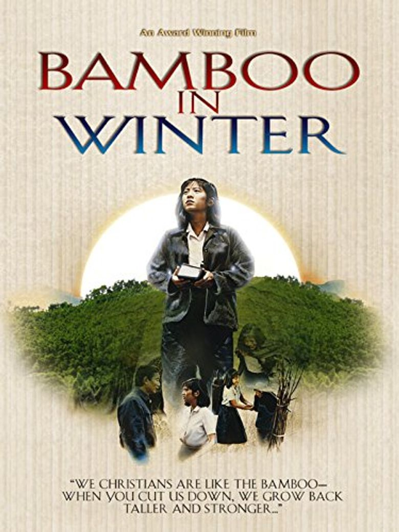 Bamboo in Winter Poster