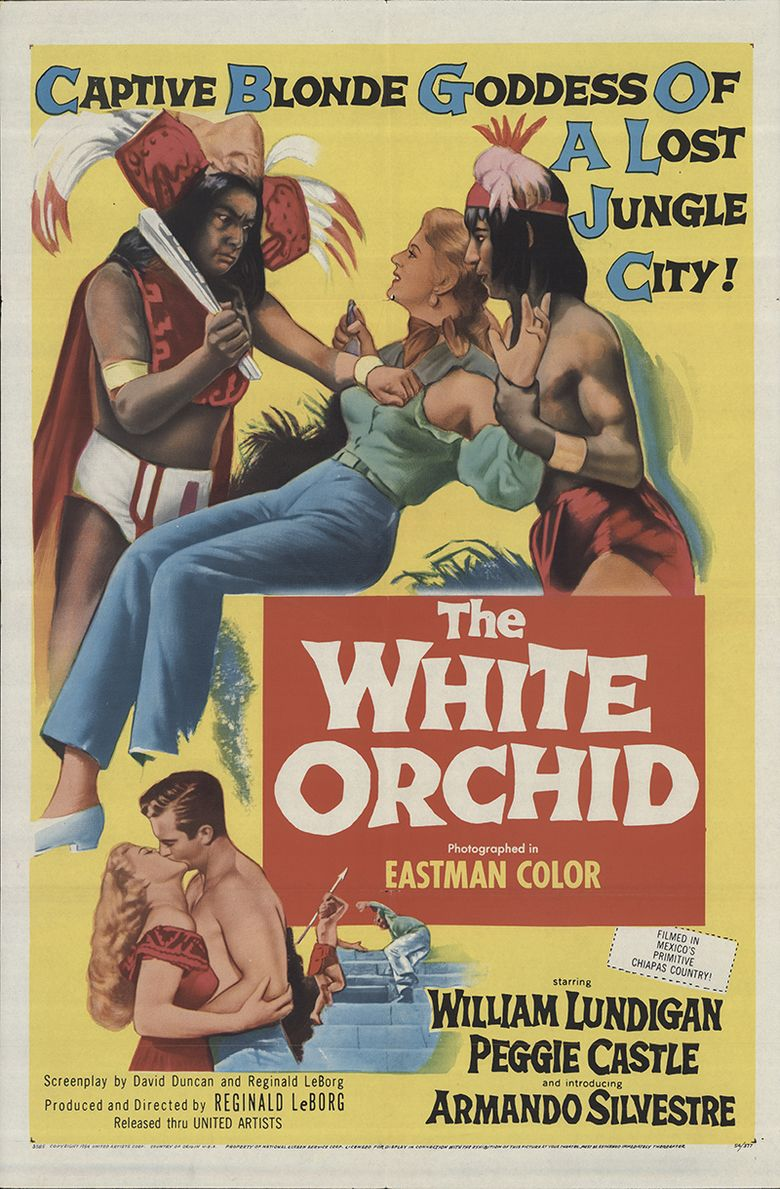 The White Orchid Poster