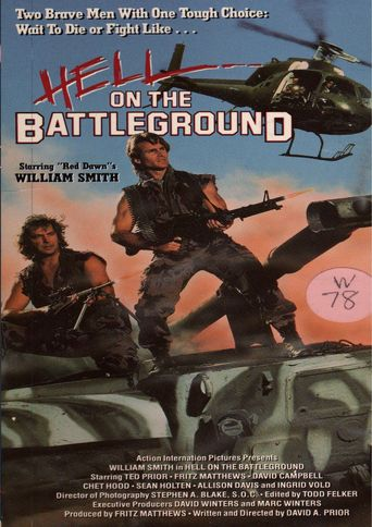 Hell on the Battleground Poster