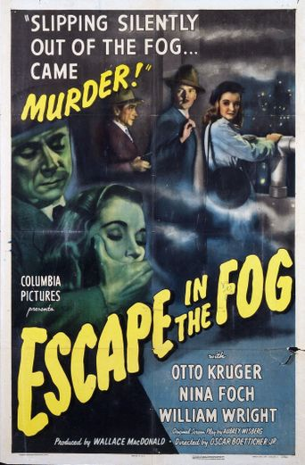 Escape in the Fog Poster