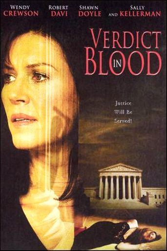 Verdict in Blood Poster