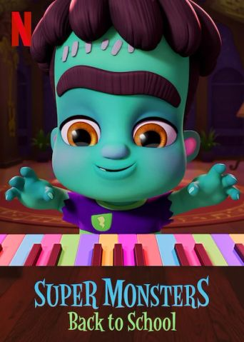 Super Monsters Back to School Poster