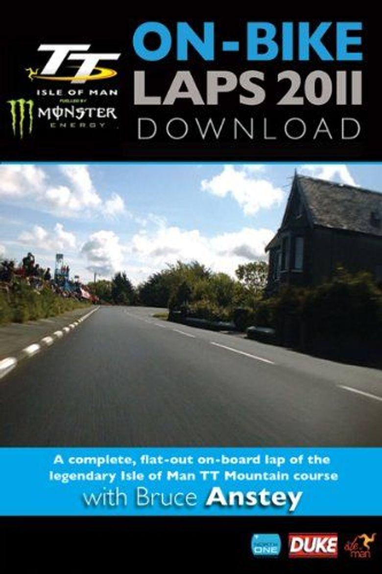 TT On-Bike: Bruce Anstey Poster