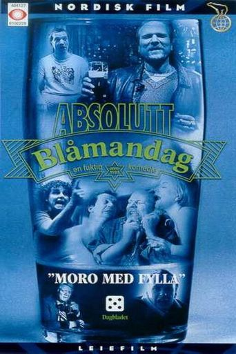 Absolutt Blåmandag Poster