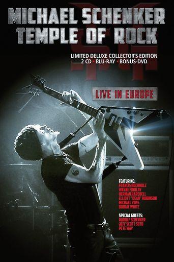 Michael Schenker: Temple Of Rock Live In Europe Poster
