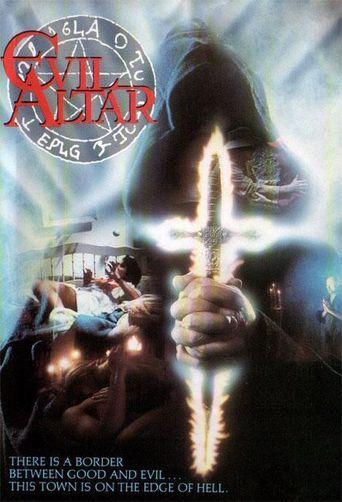 Evil Altar Poster